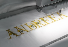Broderie la comanda Pitesti - personalizare lenjerie de pat prin broderie- Idee cadou !
