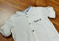 Personalizare camasi copii prin broderie computerizata !