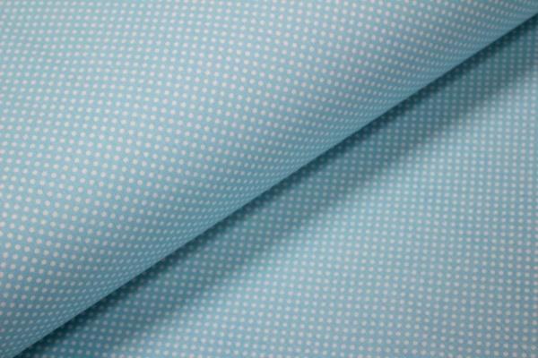 Ranforce bleu deschis bulinute
