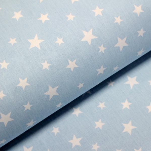 Ranforce bleu cu stelute albe
